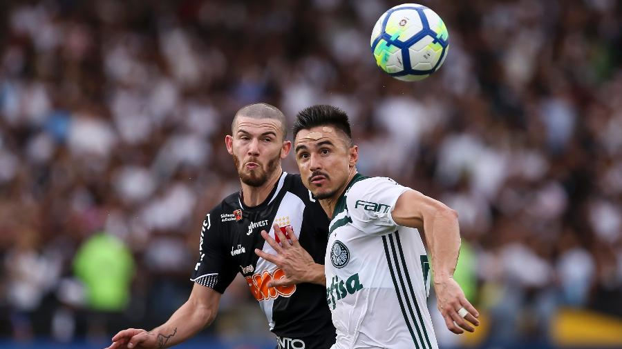 Quase 70% dos triunfos do duelo Palmeiras x Vasco pertencem ao time paulista - Bruna Prado/Getty Images
