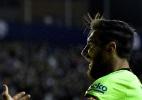 Com três gols e show de Messi, Barcelona atropela Levante no Espanhol - JOSE JORDAN/AFP