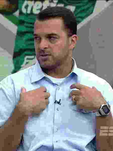 Zé Elias, comentarista dos canais ESPN - Reprodução