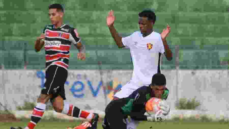Rafael Martins, lateral direito do sub-20 do Sport - Anderson Stevens/Sport Club do Recife