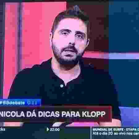 O comentarista Jorge Nicola, da ESPN, é torcedor da Portuguesa - Reprodução/ESPN