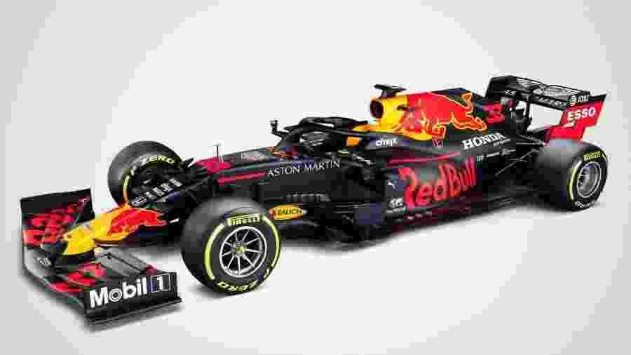Carro da Red Bull para a temporada 2020 da F1 - Divulgação/Red Bull