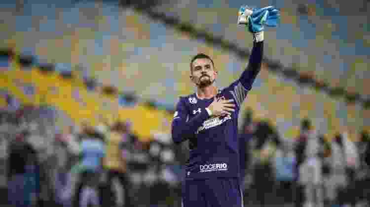 Marcos Felipe virou sombra de Muriel no gol do Fluminense - Lucas Merçon/Fluminense FC - Lucas Merçon/Fluminense FC