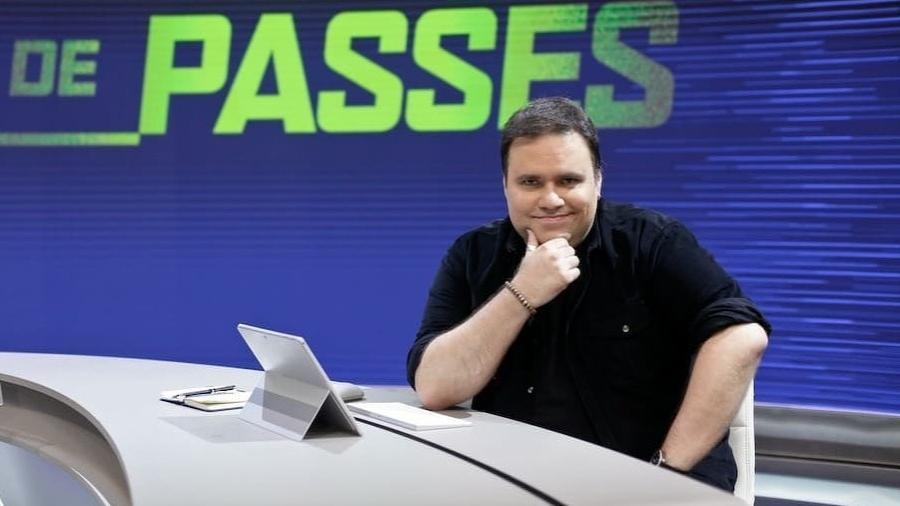 """Rodrigo Rodrigues apresentava o """"Troca de Passes"""", do SporTV - Reprodução/Instagram"""