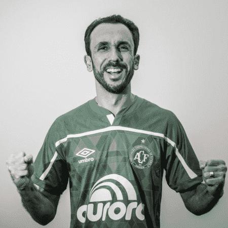 Thiago Ribeiro foi anunciado pela Chapecoense  - Divulgação / Márcio Cunha / ACF