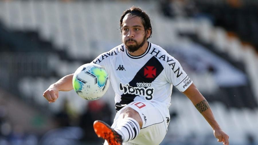 Martín Benítez disputou 33 partidas com a camisa do Vasco e fez três gols: argentino defenderá o São Paulo - Rafael Ribeiro / Vasco