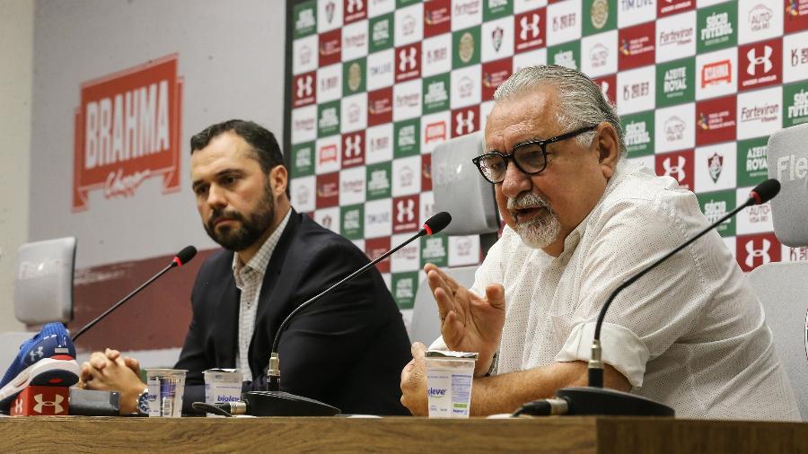 Fluminense de Mário Bittencourt e Paulo Angioni segue com indefinições às vésperas da Libertadores - Lucas Mercon/Fluminense FC
