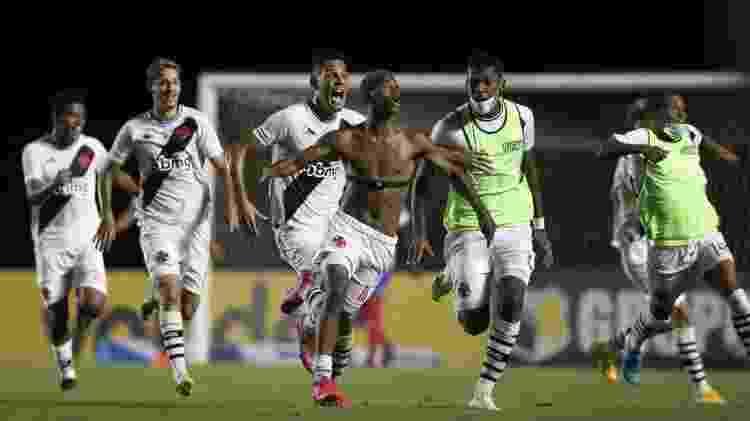 Caio Eduardo comemora gol que deu título da Copa do Brasil Sub-20 ao Vasco - Lucas Figueiredo/CBF - Lucas Figueiredo/CBF