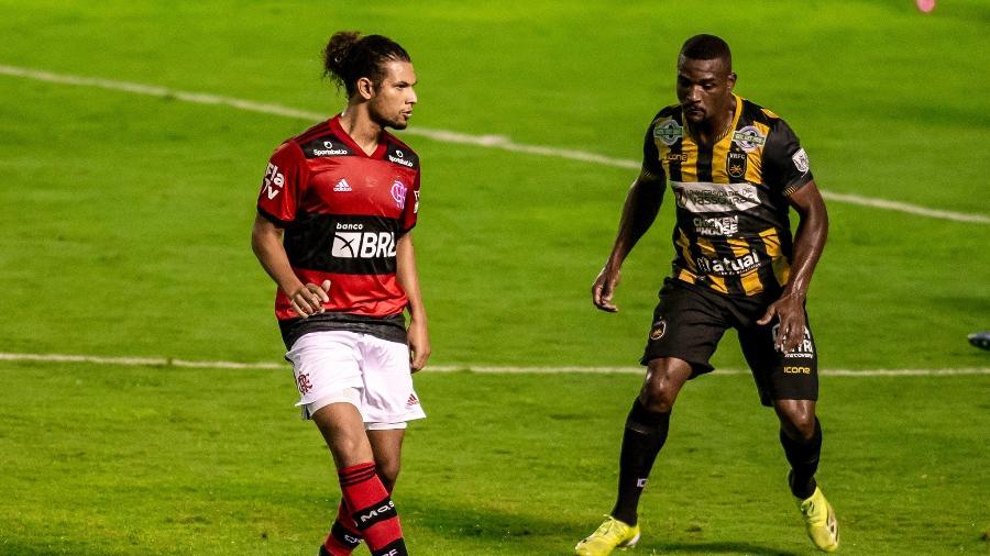 Volta Redonda e Flamengo se enfrentaram no Raulino de Oliveira no primeiro no duelo pela semifinal do Carioca - Marcelo Cortes / Flamengo