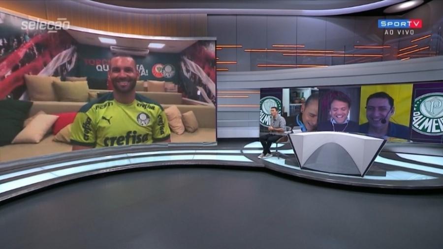 Weverton elogia Alisson por gol pelo Liverpool e exalta goleiros brasileiros - Reprodução/SporTV