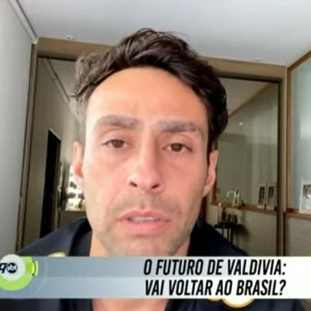 Ex-Palmeiras, Valdivia volta a criticar Alexandre Mattos - Reprodução/SBT
