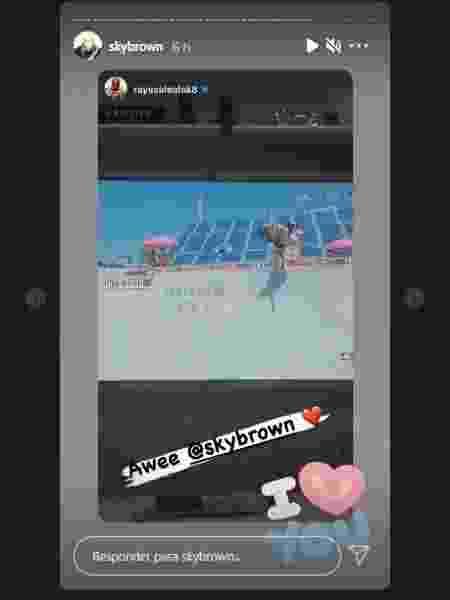 Sky Brown agradece apoio de Rayssa Leal - Reprodução/Instagram - Reprodução/Instagram