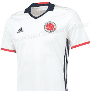 Nova camisa da Colômbia vaza na internet - Reprodução/Todo Sobre Camisetas