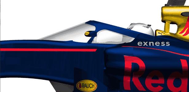 Desenho do modelo proposta pela Red Bull - Divulgação/Red Bull - Divulgação/Red Bull