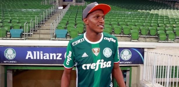 Mina já vestiu a camisa do Palmeiras e visitou o Allianz Parque