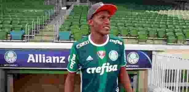 Mina já vestiu a camisa do Palmeiras e visitou o Allianz Parque  - TV Palmeiras/Divulgação