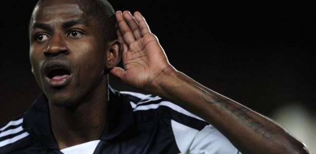 Ramires comemora o golaço contra o Barça na semifinal da Liga dos Campeões - AFP PHOTO / JOSEP LAGO