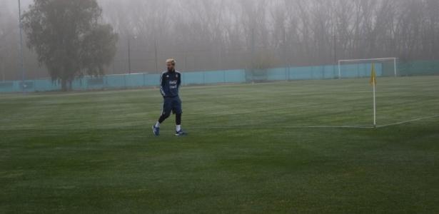 Messi já treinou com a seleção nesta terça 930)