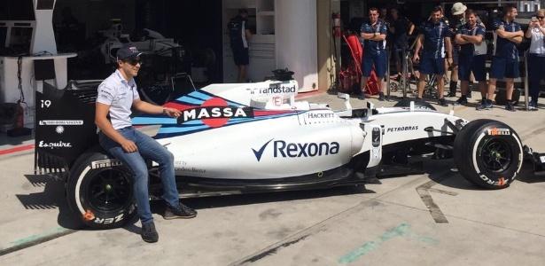 Massa ficará com o carro personalizado que usou no GP do Brasil - Reprodução