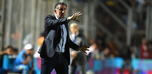 """Bauza não concordou com """"lei do silêncio"""" imposta pelos jogadores da Argentina - Eitan Abramovich/AFP Photo"""