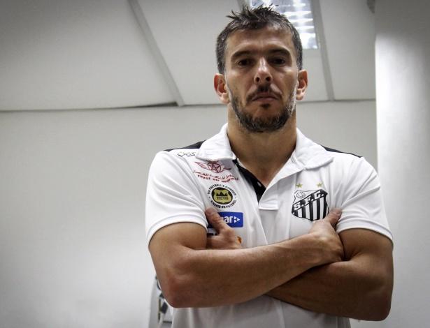 Leandro Donizete, novo volante do Santos, ficou conhecido como General no Atlético-MG