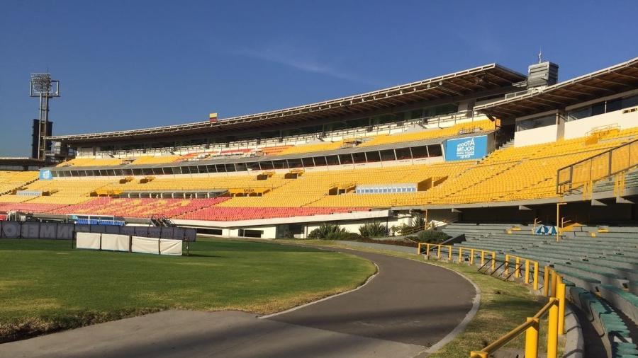 Estádio El Campín, em Bogotá, é uma das sedes da Copa América - Napoleão Almeida/UOL