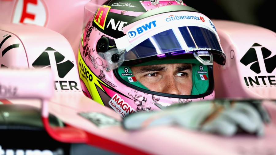 Sergio Perez, da Force India, durante treinos do GP da Austrália - Clive Mason/Getty Images