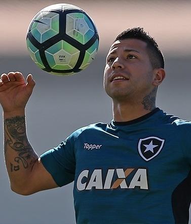 Leonardo Felipe Valencia Rossel, meia do Botafogo