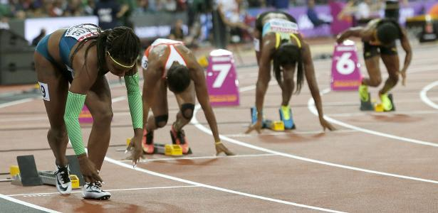 Rosângela Santos foi eliminada nas semifinais dos 200m rasos no Mundial de atletismo