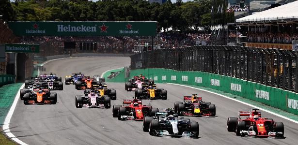 GP do Brasil está em Interlagos desde 1990