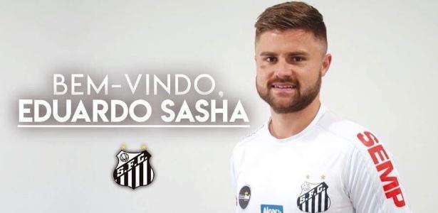 Santos anunciou Sasha em seu perfil no Twitter