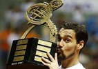 Campeão do Brasil Open, Fognini dedica título a zagueiro morto - Divulgação/Brasil Open