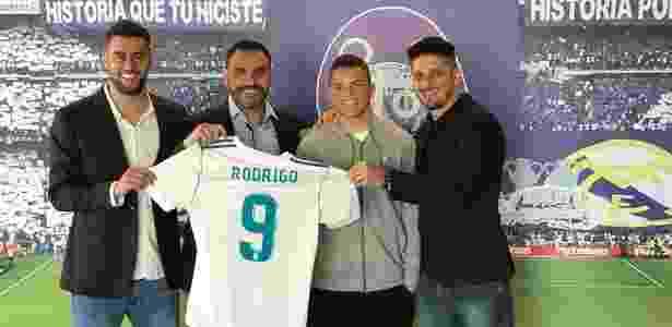 Rodrigo Farofa vai defender o Real Madrid - Divulgação