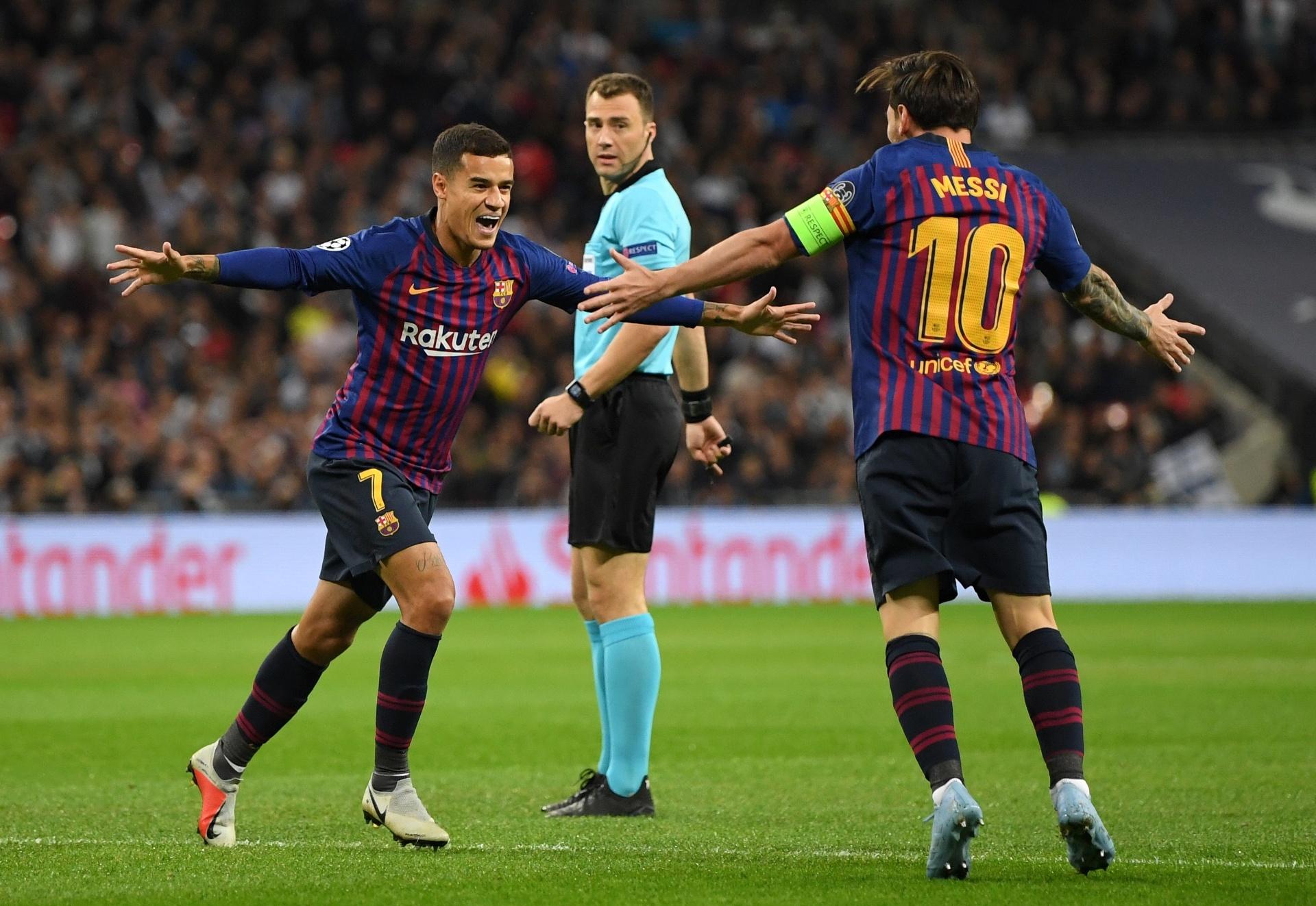 Coutinho volta a treinar e pode reforçar Barça diante do Atlético de Madri  - Esporte - BOL 341abd8efd233