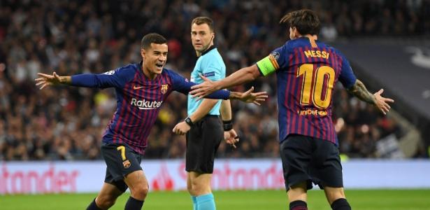 Coutinho voltou a trabalhar com o Barça e pode voltar ao time contra o Atlético de Madri - Shaun Botterill/Getty Images