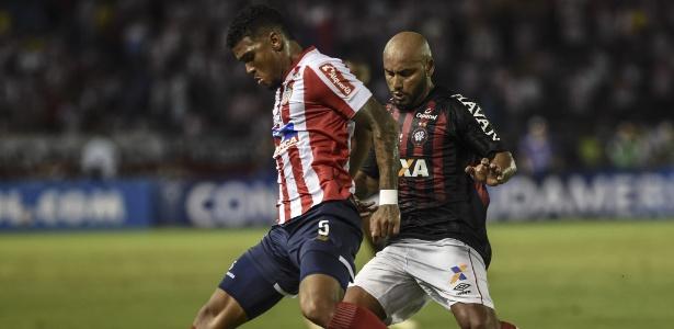Atlético-PR e Junior ficaram no 1 a 1 na Colômbia: volta é dia 12, em Curitiba