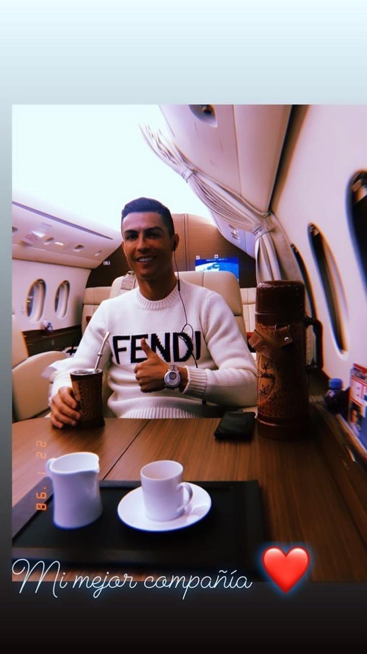 Cristiano Ronaldo foto coração