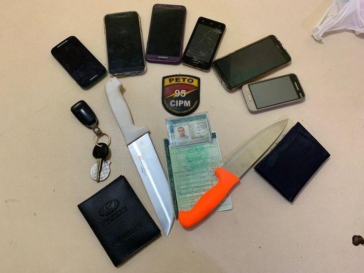 Polícia encontrou duas facas com torcedores da Bamor que espancaram aficionado do Vitória