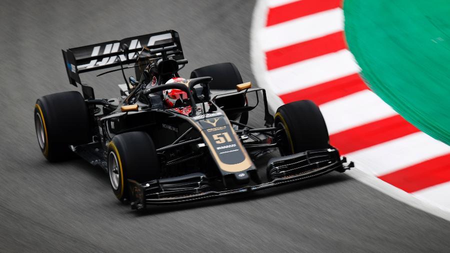Pietro Fittipaldi causou boa impressão em teste da pré-temporada - Divulgação/Haas
