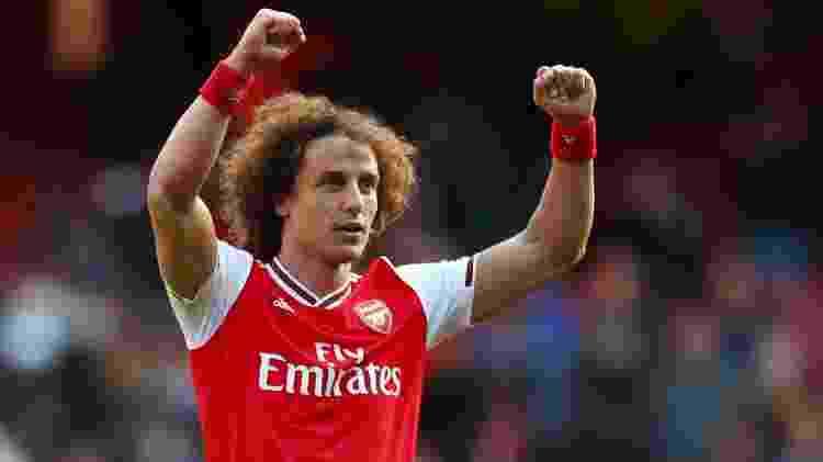 Arsenal vence com gol de David Luiz e assume a terceira posição do Inglês - REUTERS/Eddie Keogh  - REUTERS/Eddie Keogh
