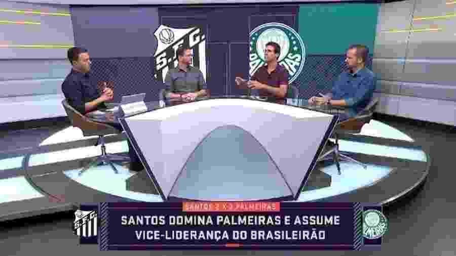 Arnaldo Ribeiro no Seleção SporTV - Reprodução/SporTV