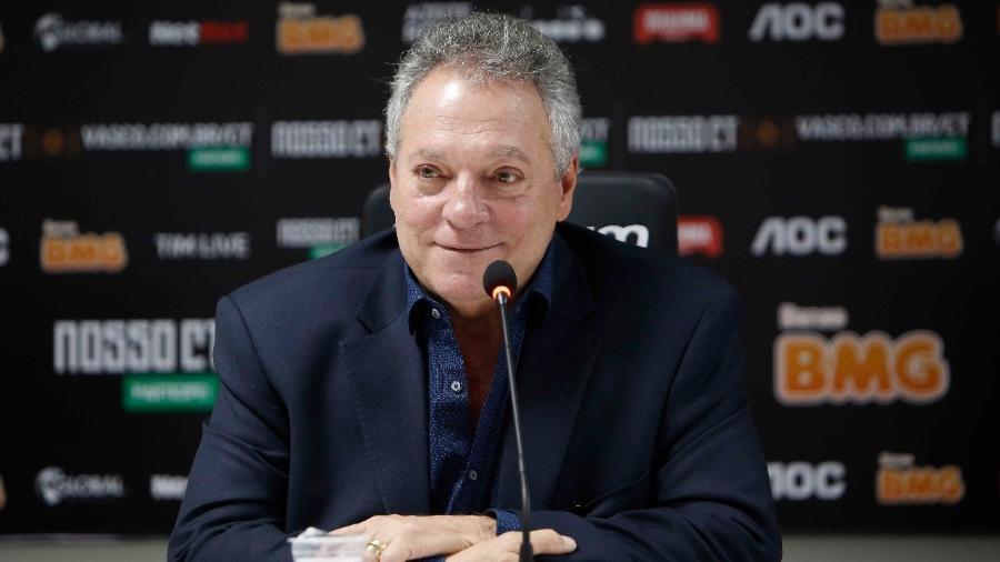 Técnico Abel Braga diz que está orgulhoso da equipe do Vasco mesmo com a derrota para o Botafogo - Rafael Ribeiro/Vasco