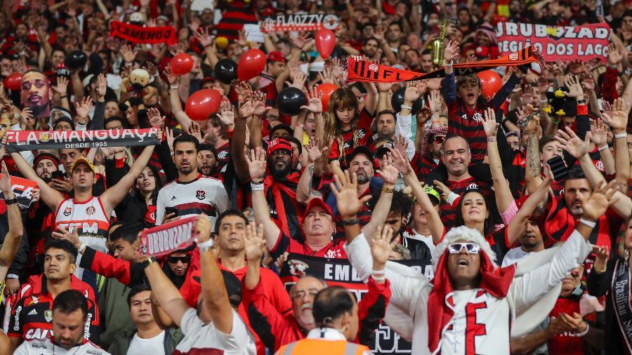 Flamengo quer voltar a ter torcida em seu estádio antes dos demais times - KARIM JAAFAR / AFP