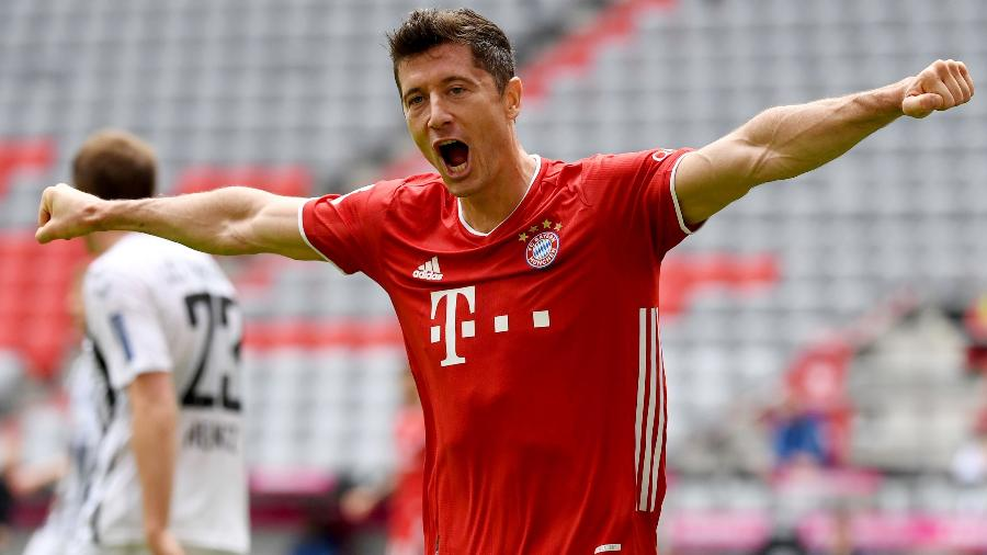 Robert Lewandowski fez grande temporada pelo Bayern de Munique - Reuters