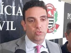 O delegado César Saad, da DRADE (Delegacia de Polícia de Repressão aos Delitos de Intolerância Esportiva) - Reprodução TV - Reprodução TV