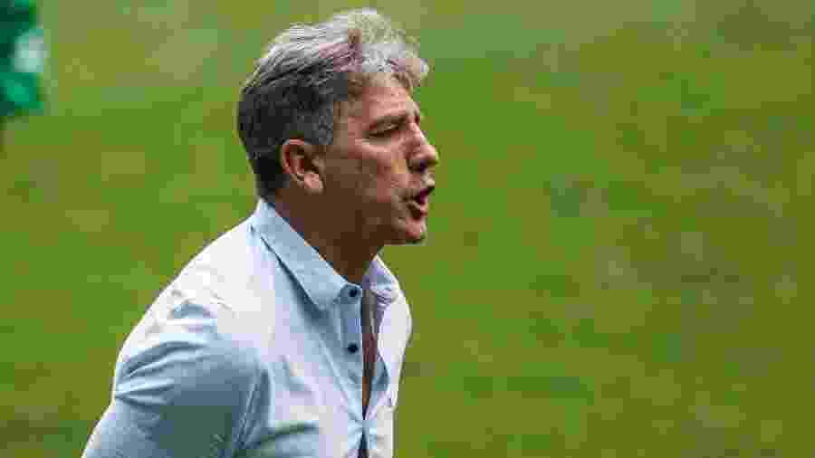 Renato Gaúcho quer Grêmio atento ao Campeonato Brasileiro além das demais competições - Fernando Alves/AGIF