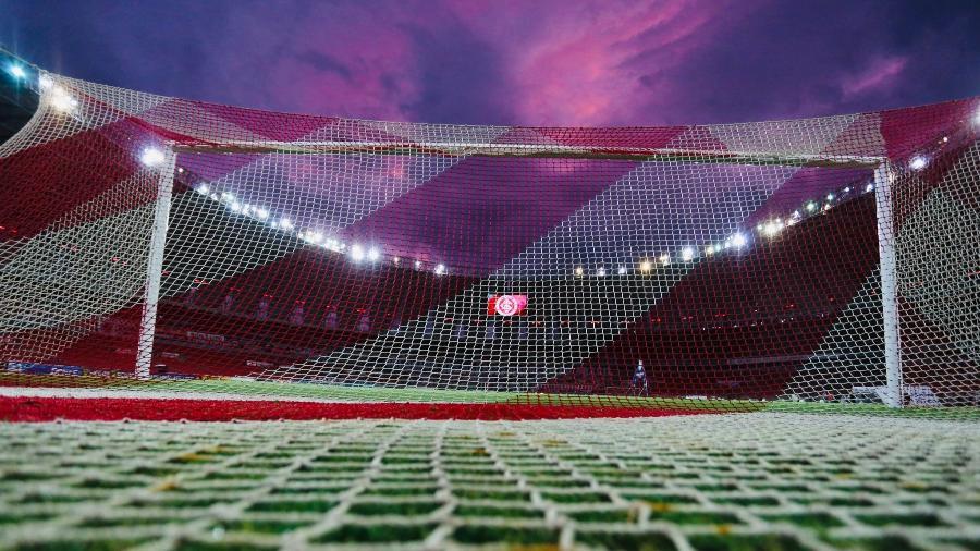 Nuvem em cima do Beira-Rio faz torcedores do Inter lembrarem de Fernandão - Reprodução