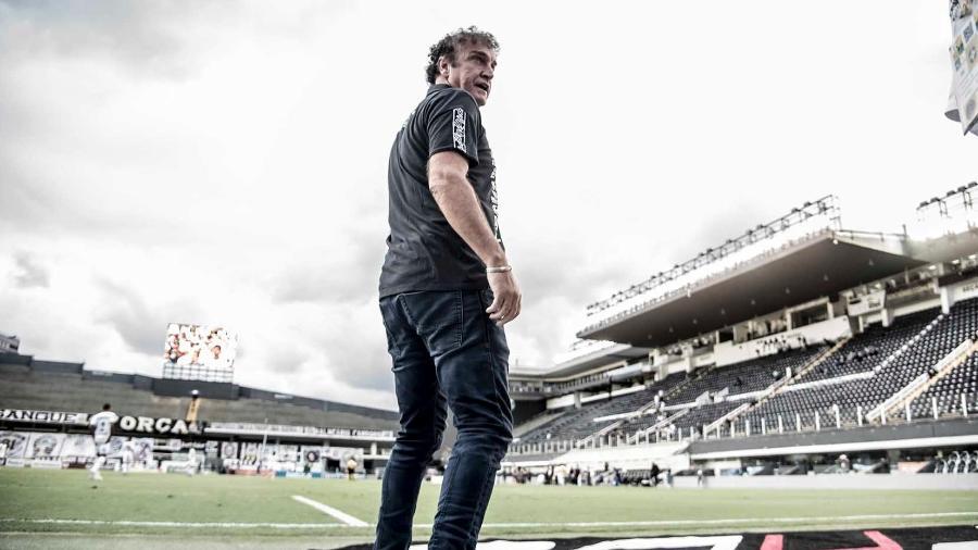 Cuca deixou o Santos recentemente e já deu sinal positivo para dirigentes do Galo quanto ao convite para voltar ao comando técnico do clube - Ivan Storti/Santos FC