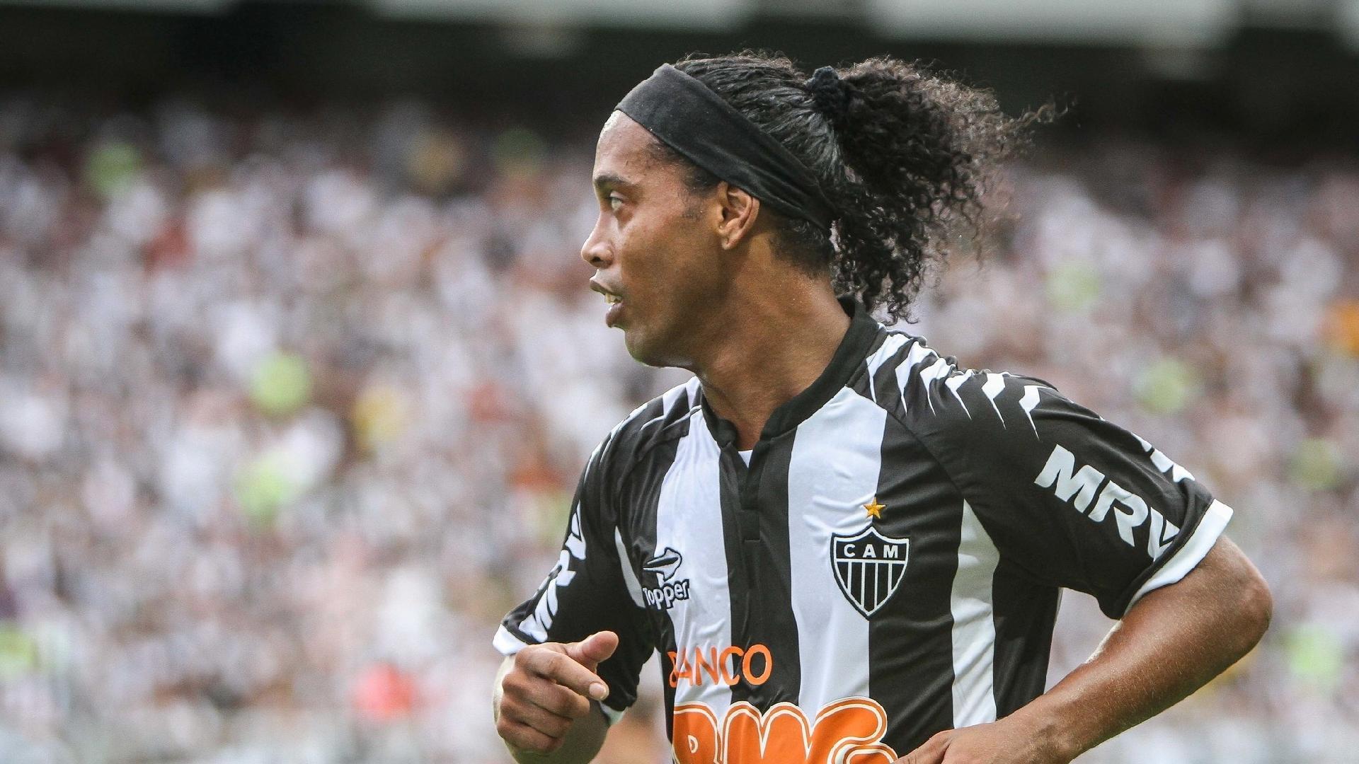 Ronaldinho Gaúcho fez 88 jogos com a camisa do Atlético-MG e entrou para a história do clube
