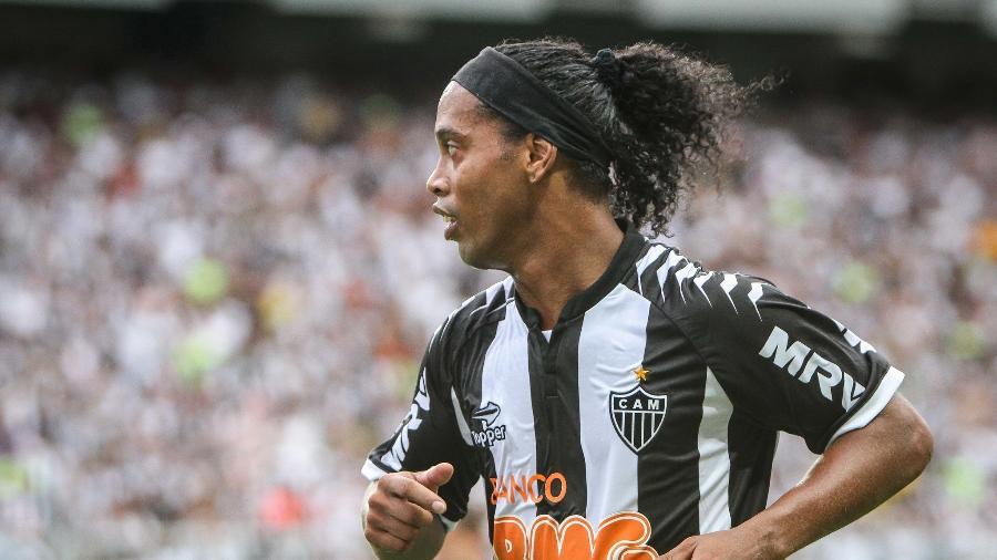 Ronaldinho Gaúcho fez 88 jogos com a camisa do Atlético-MG e entrou para a história do clube - Bruno Cantini/BRUNO CANTINI